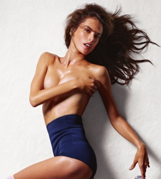 Алессандра Амбросио,фотосессия,ню,обнаженная,фигура,фото,без одежды