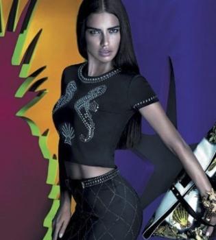 Адриана Лима,реклама,фото,Versace,фотосессия