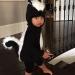Ким Кардашьян,фото,дочь,костюм,Хэллоуин 2014,Instagram