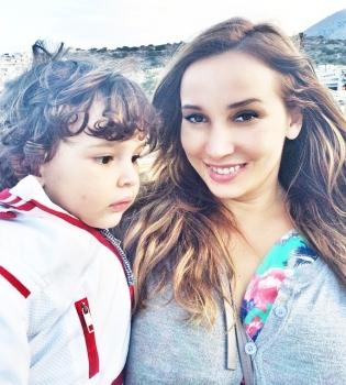 Анфиса Чехова,фото,сын,семья,Instagram,Соломон,ребенок