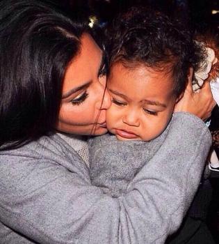 Ким Кардашьян,ребенок,семья,дочь,фото,Норт Уэст,второй ребенок,беременность,интервью