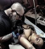 Леди Гага,татуировка,мама монстров,тату,фото,Instagram