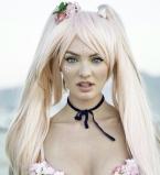 Кэндис Свейнпол,аниме,фотосессия,фото,Instagram