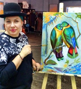 Ева Польна,фото,дети,дом,картины