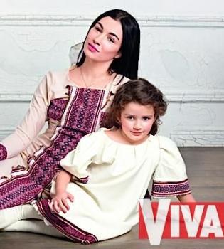 Анастасия Приходько,интервью,журнал Viva,дочь,фото,муж,война,Россия,зона АТО