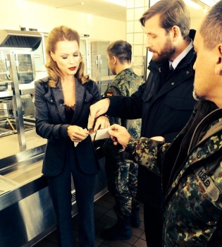 Ольга Фреймут,Инспектор Фреймут,НАТО,военная база,Германия,фото