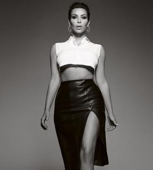 Ким Кардашьян,интервью,фигура,грудь,формы