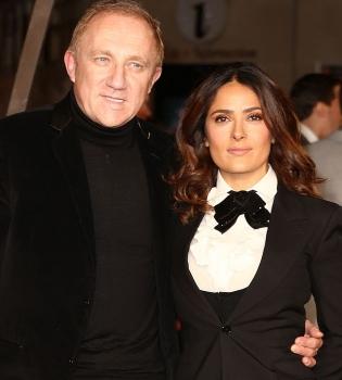 Сальма Хайек,муж,Франсуа Анри-Пино,фото,красная дорожка,премьера,стиль