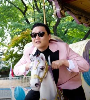 Gangnam Style,Psy,YouTube,Книга рекордов Гиннеса,фото
