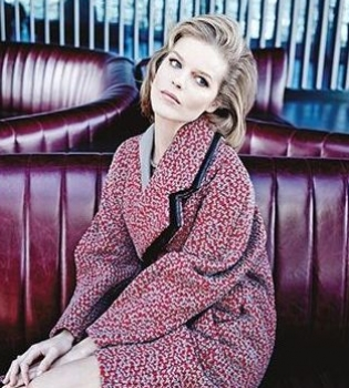 Ева Герцигова,фотосессия,глянец,фото,видео,модель,зима 2015