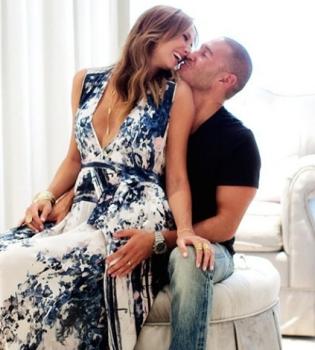 Стейси Киблер,Джордж Клуни,дочь,Ава Грейс,первое фото