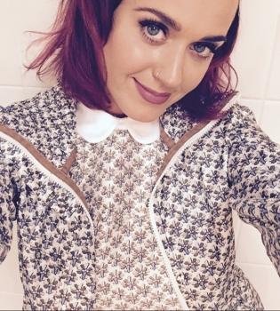 Кэти Перри,волосы,стиль,фото,омбре,Instagram