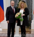 фото,Алла Пугачева,Владимир Путин, награда