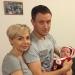 Наталья Гордиенко,стали родителями,новый год,Санта Клаус,фото,молодая мама