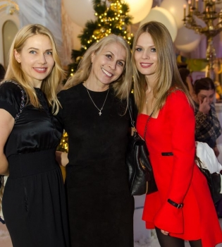 Новый год,Рождество,новогодний бал,Ольга Фреймут,Тала Калатай,Григорий Решетник,фото