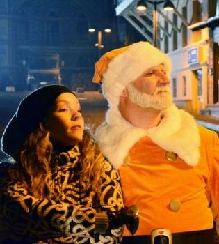 Алена Шоптенко,Дмитрий Дикусар,Грузия,банк,Новый год,фото,видео,рекламный ролик