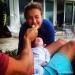 Владимир Кличко,Хайден Панеттьери,новорожденная дочь,people,фото