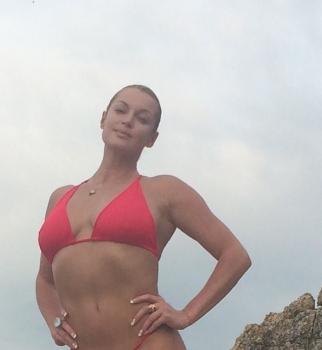 Анастасия Волочкова,Таиланд,отдых,бикини,в купальнике,на пляже