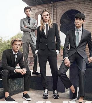Кара Делевинь,коллекция,DKNY,рекламная кампания,фото