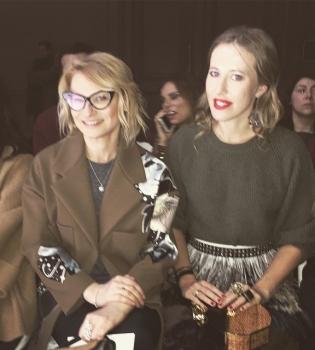 Ксения Собчак, L%60Officiel Россия,уволена,эксперт моды,модный приговор,Неделя высокой моды в Париже,instagram,фото