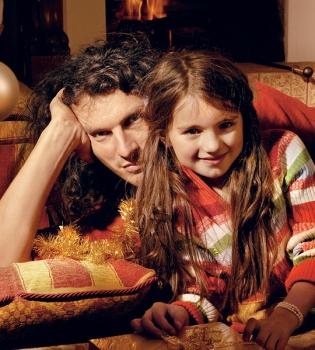 Кузьма Скрябин,дочь,жена,с женой,фото,журнал Viva,семья