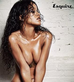 Рианна,обнажилась,Esquire