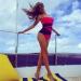 Виктория Боня,йога,стойка на голове,фото,отдых,инстаграм