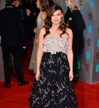 Кира Найтли,беременная,красная дорожка,BAFTA,фото
