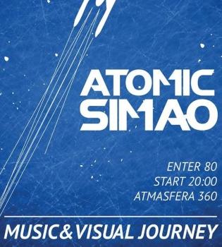 Atomic Simao,концерт, Киевский планетарий