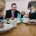 Виталий Кличко,побывал в школе,фото,мэр Киева