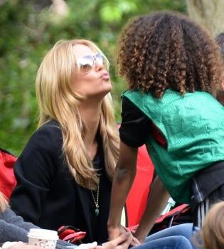 Хайди Клум,Хайди Клум с детьми,Хайди Клум фото с детьми