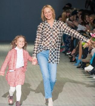 Ольга Аленова, Александр Шовковский, Ukrainian Fashion Week,Александр Шовковский дочь фото