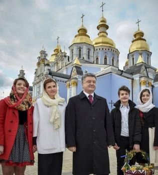 Петр Порошенко, Петр Порошенко жена, Марина Порошенко, первая леди Украины, Зробимо Україну чистою
