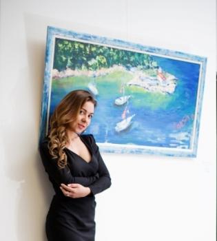 Екатерина Ковальская, Екатерина Ковальская персональная выставка, выставка картин, выставка,