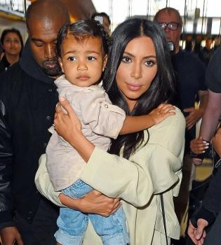 Ким Кардашьян,Ким Кардашьян дочь,Ким Кардашьян дочь фото,Норт Уэст,Норт Уэст фото