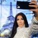 Ким Кардашьян,Ким Кардашьян фото,Ким Кардашьян селфи,Ким Кардашьян музей мадам Тюссо,музей мадам Тюссо