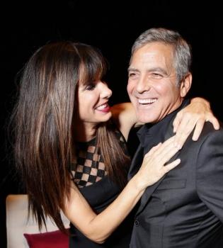 Сандра Баллок,Сандра Баллок фото,Джордж Клуни,Джордж Клуни фото,Сандра Баллок и Джордж Клуни,Сандра Баллок и Джордж Клуни фото