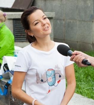 Маричка Падалко, Маричка Падалко дети, Маричка Падалко дети фото, благотворительный забег киев, благотворительный забег