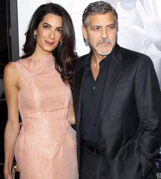 Амаль Клуни,Амаль Клуни фото,Джордж Клуни,Джордж Клуни фото,Амаль и Джордж Клуни ребенок