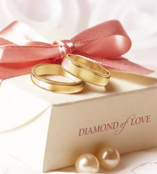 DIAMOND of LOVE, обручальные кольца, кольца, ювелирные кольца