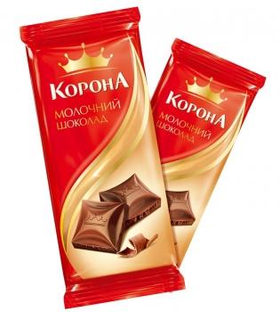 корона, шоколад корона