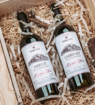 Коблево, вино Коблево, 14 февраля, подарки к 14 февраля