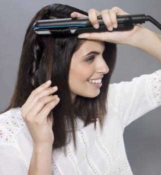 rowenta, стайлинг, локоны, прямые волосы