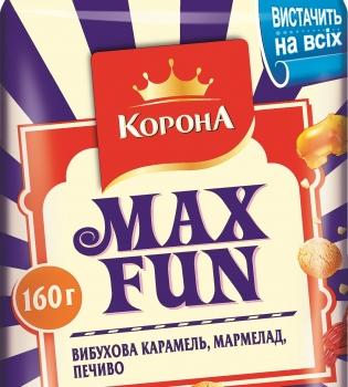 Max Fun, шоколад Max Fun, Max Fun корона, шоколад корона