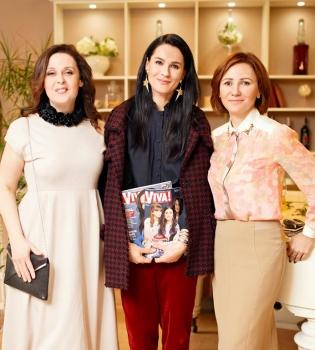журнал viva, журнал viva релонч, маша ефросинина, иванна слабошпицкая, инна катющенко