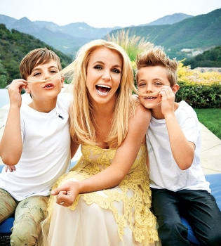 Бритни Спирс,Бритни Спирс фото,Бритни Спирс письмо сыновьям,Бритни Спирс дети
