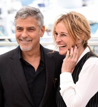 Канны 2016,Каннский фестиваль 2016,Джулия Робертс,Джулия Робертс фото,Джордж Клуни,Джордж Клуни фото