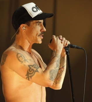 Red Hot Chili Peppers, Red Hot Chili Peppers Киев, Энтони Кидис, Энтони Кидис 10 фактов, Red Hot Chili Peppers Энтони Кидис