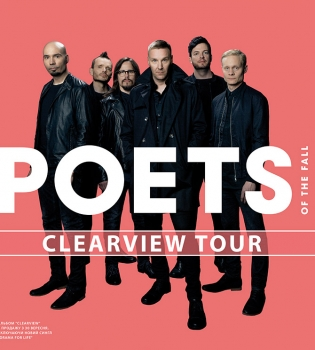 Poets of The Fall, Poets of The Fall киев, Poets of The Fall концерт киев, Poets of The Fall концерт, Poets of The Fall новый альбом, Poets of The Fall Украина, Poets of The Fall в Украине