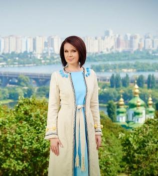 Алла Мазур, Алла Мазур видео, день независимости Украины